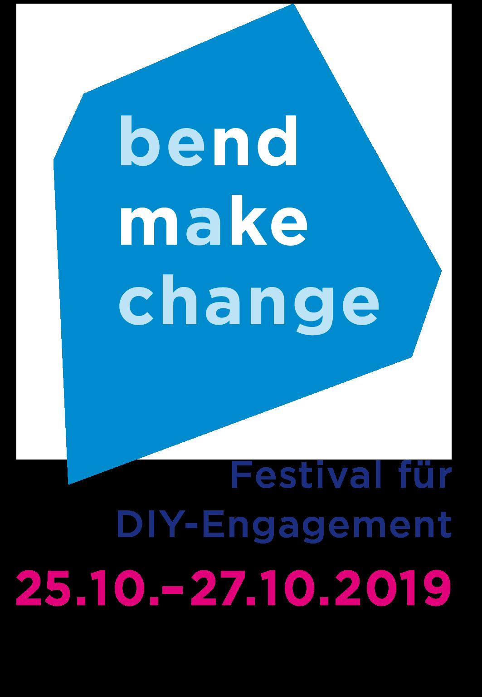 Logo Bend Make Change 2019: Politics of Blockchain, 25. - 27. Oktober 2019 in Offenbach